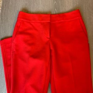 Loft red Marisa dress pants size 0